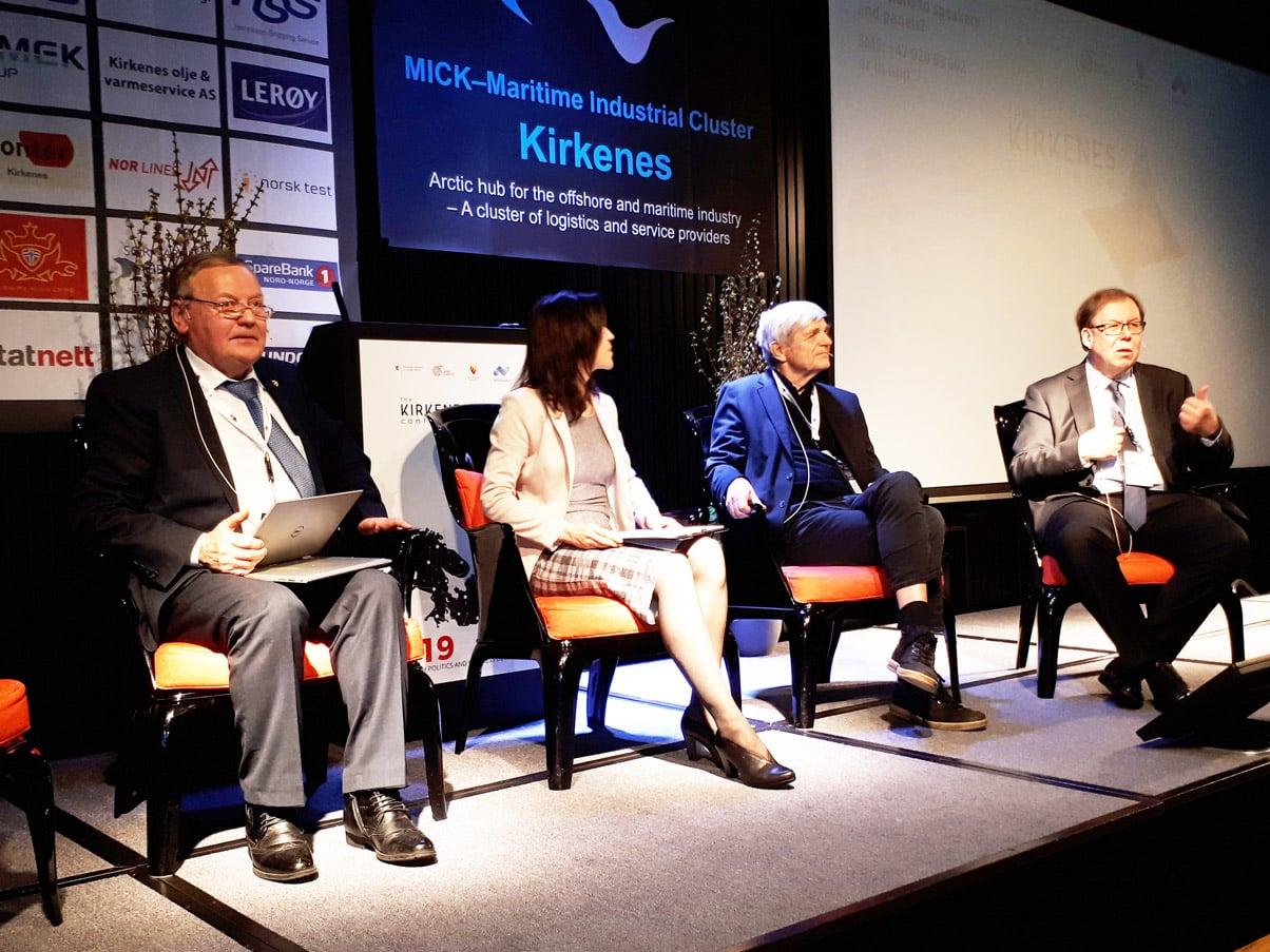 Представители руководства НАМИБ приняли участие и выступили в Киркенесской конфереции