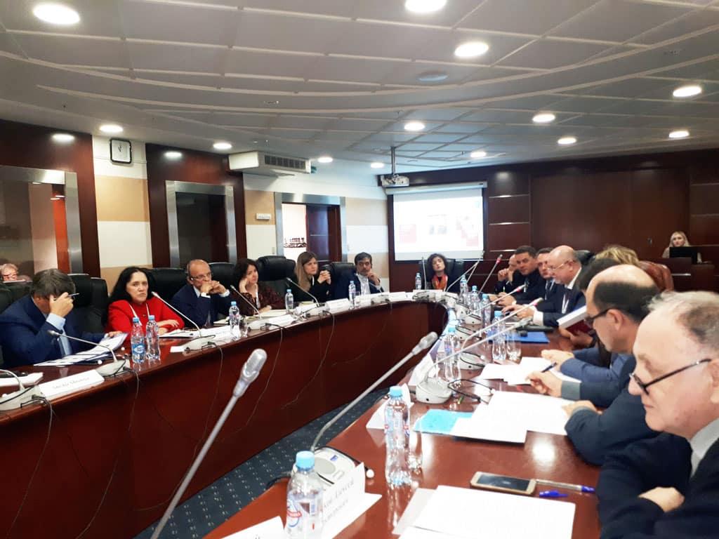 В рамках XII Конвента Российской ассоциации международных исследований «Мир регионов vs. регионы мира» 22 октября 2019 г. состоялись три специальные секции по тематике международной информационной безопасности